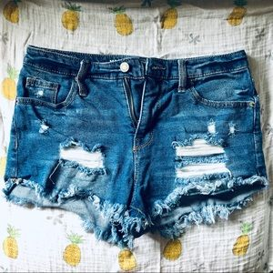 Mossimo Supply Co. High-waisted Denim Shorts